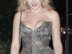 Renee Olstead Nipslip Party Photos